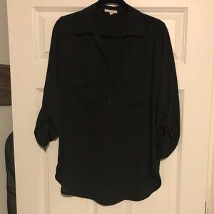 Pleione black blouse-size M